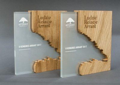 Jedna_z_nagród_wyjątkowa statuteka w nowoczesnej formie_zaprojektowana specjalnie_dla_Arrant